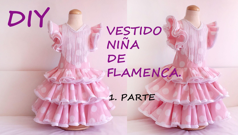 Vestido niña de flamenca: Como hacer un vestido flamenca de niña (+ ...