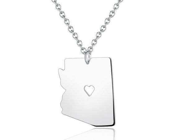 Arizona necklace arizona pendant i heart state by diyjewerly arizona necklace arizona pendant i heart state by diyjewerly aloadofball Gallery