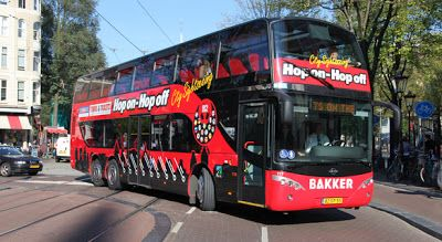 Amsterdam Hop On Hop Off City Sightseeing Lugares