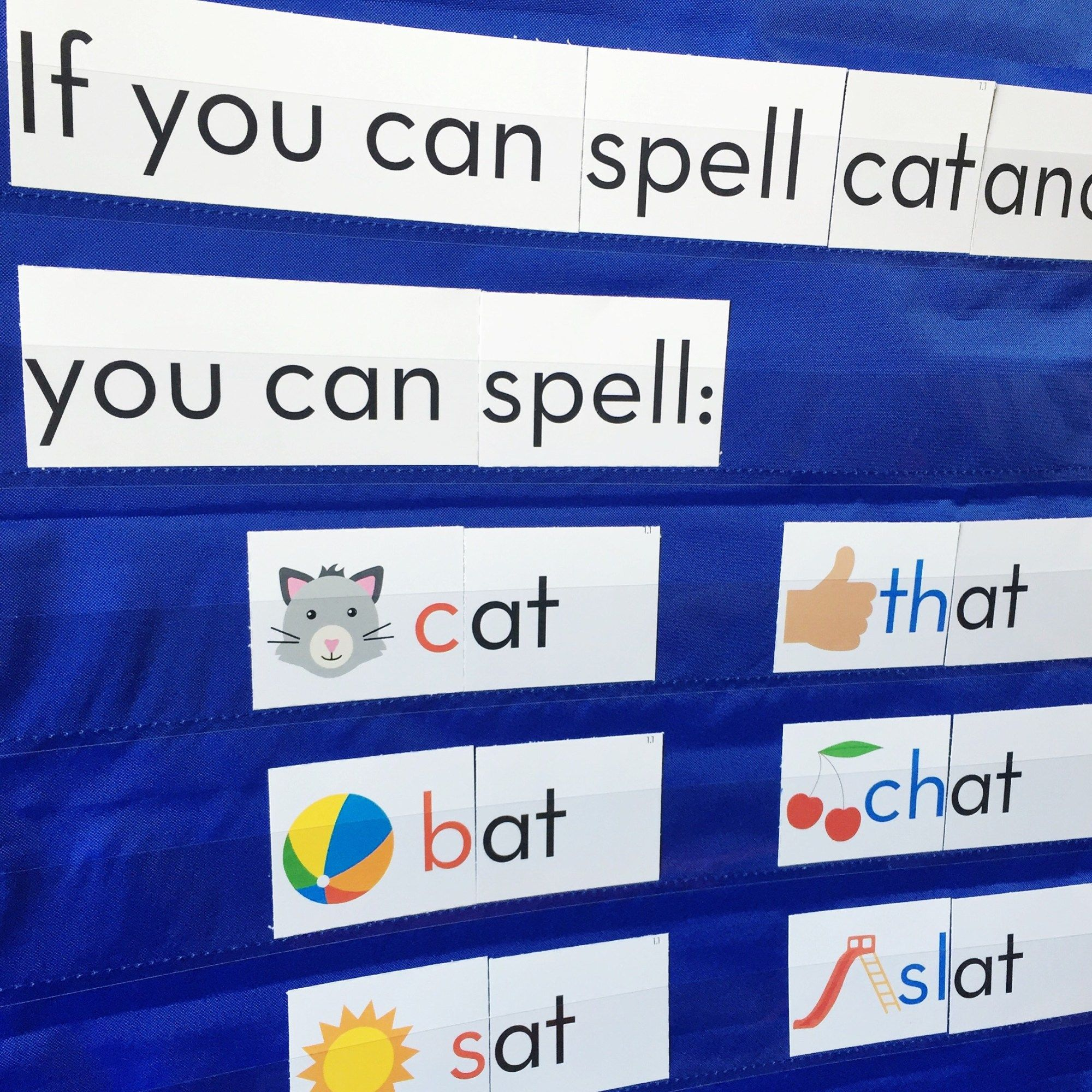 Chunk Spelling With Images