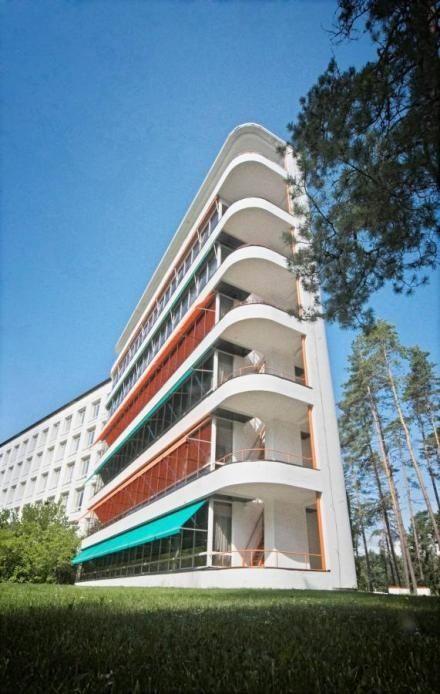 Paimio Sanatorium, by Alvar Aalto