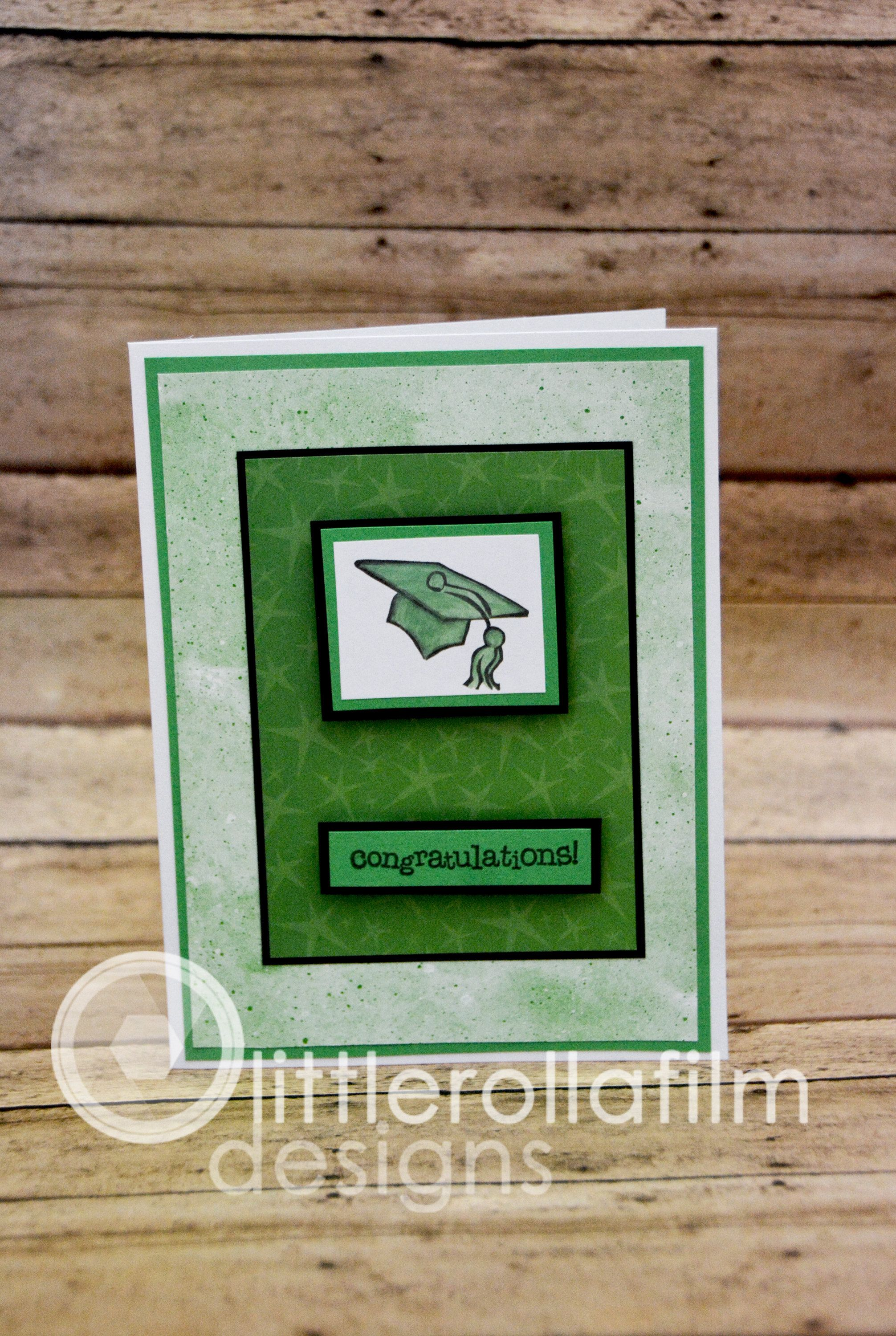 Photo of Graduation Card, Happy Graduation, Congratuations Graduate, Card for Graduate, College Graduate, Highschool Graduate, Green Graduation