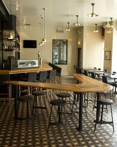 Boomerang Counter Table Gt Fish And Oyster Bar Design Restaurant Gt Fish And Oyster Design