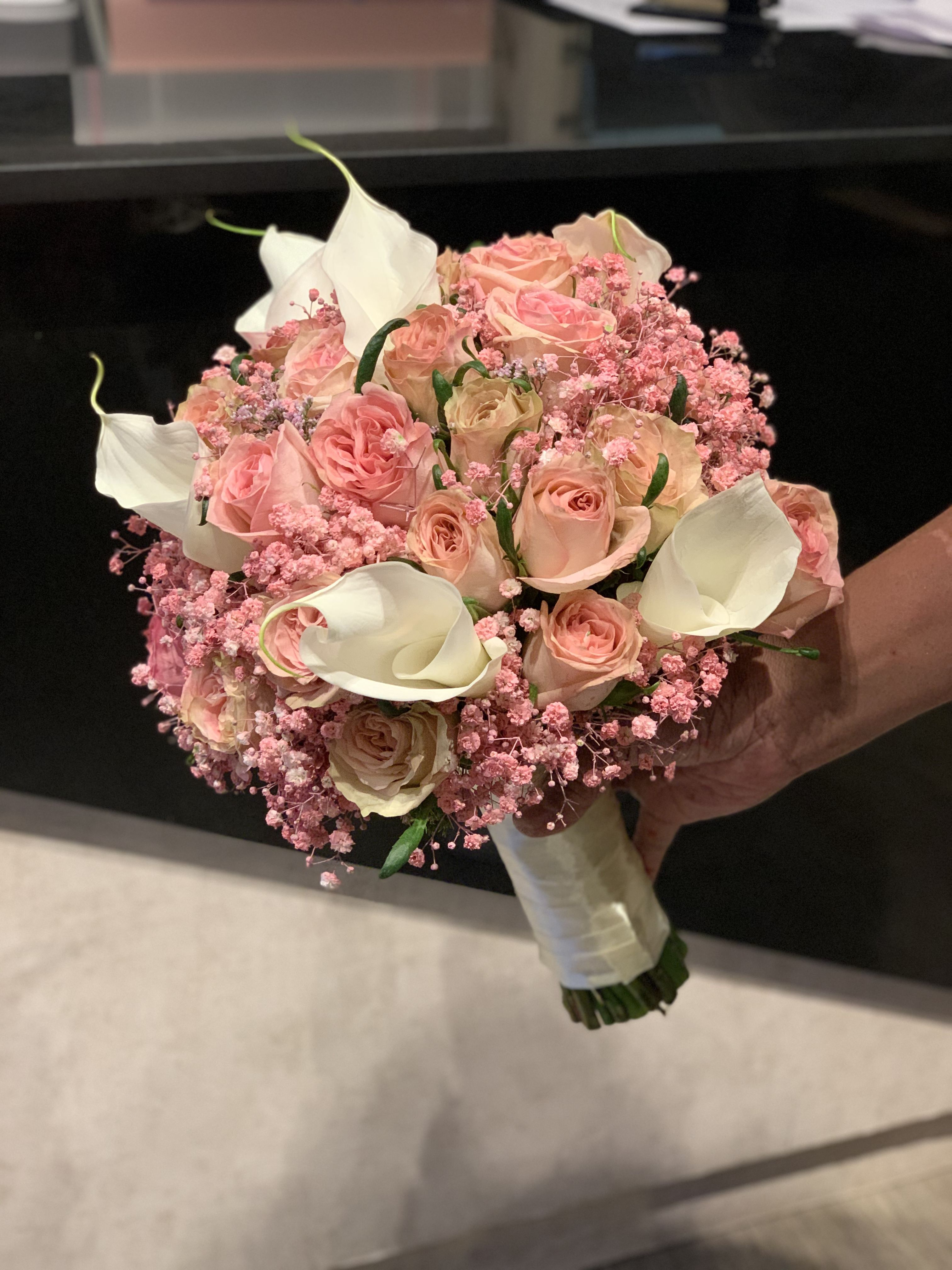 Pink Bridal Bouquet Bridal Bouquet Pink Bridal Bouquet Bridal