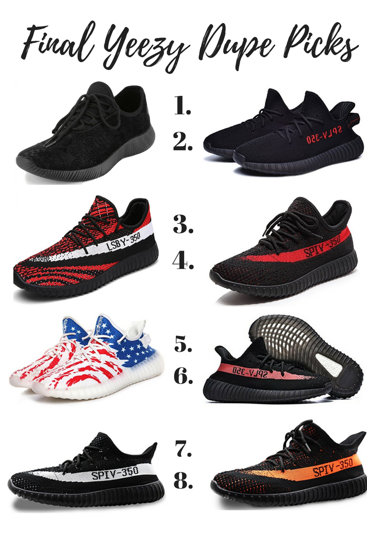 Yeezy DupesSneakers The Outfits Guide To Best Your kXOPiuTwZ