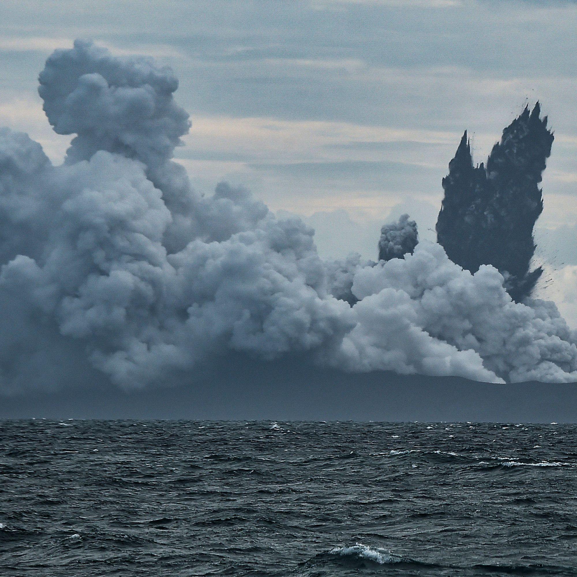 Indonesia's Volatile Child of Krakatau Collapsed, but Now