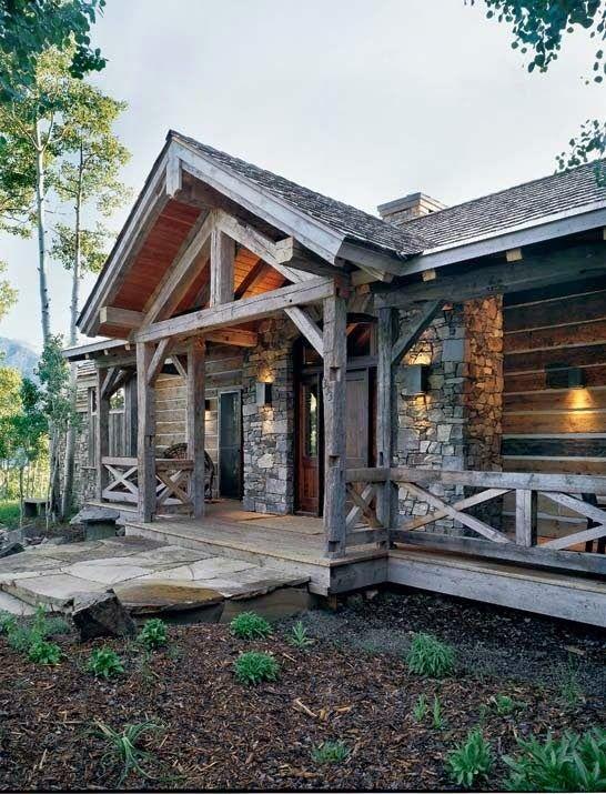 Fachadas de casas rusticas fachadas casas rusticas de for Casas de campo de madera