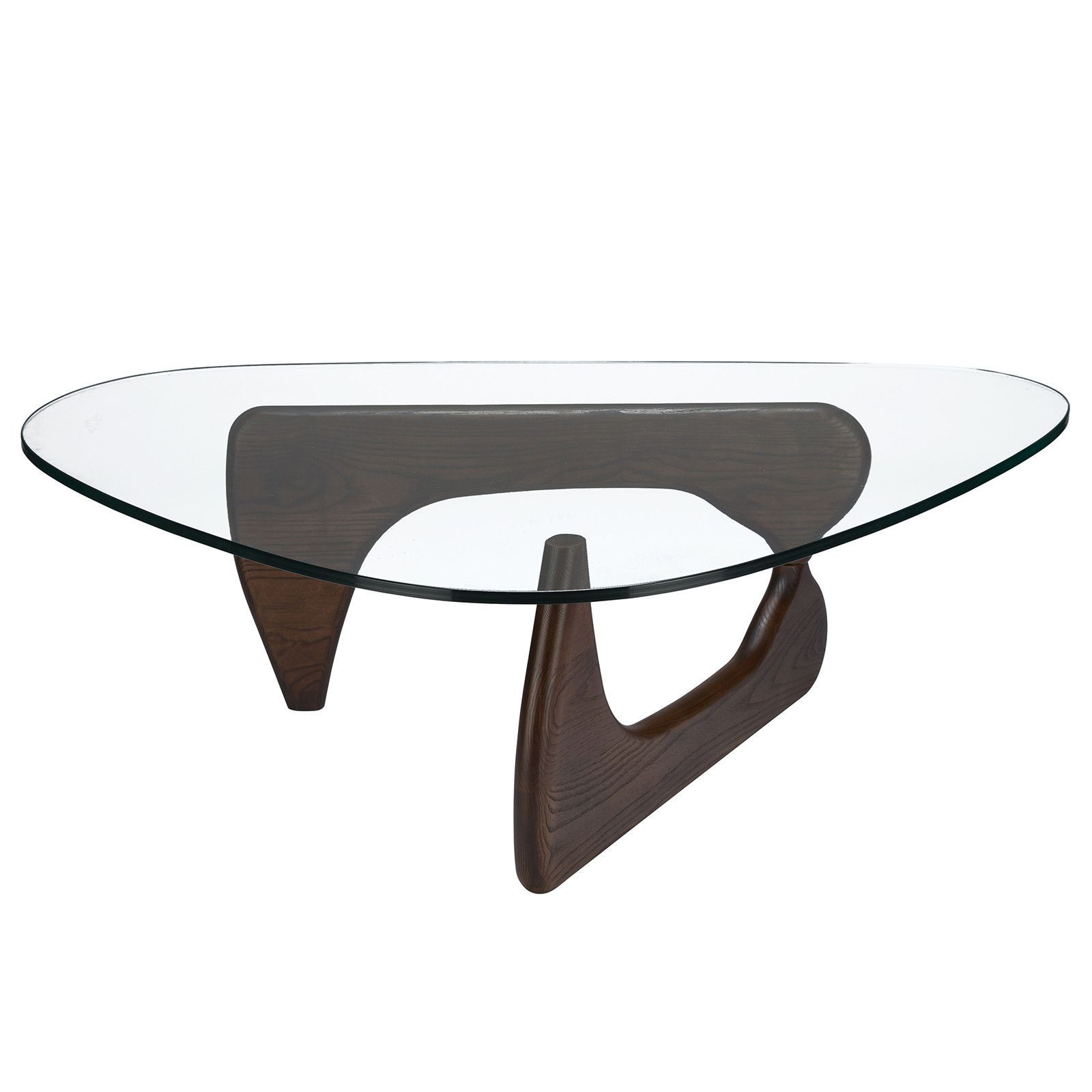 Isamu Noguchi Style Coffee Table Coffee Table Modern Glass