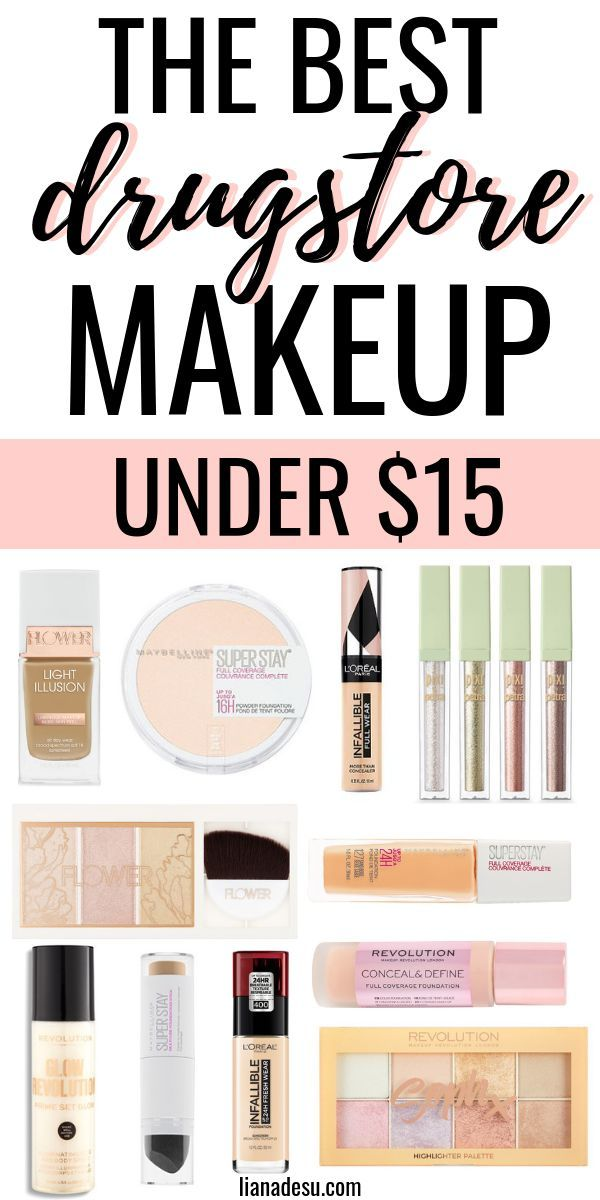 Best Drugstore Makeup Under $15 - All the Must-Have Products You Need -   15 makeup Beauty budget ideas