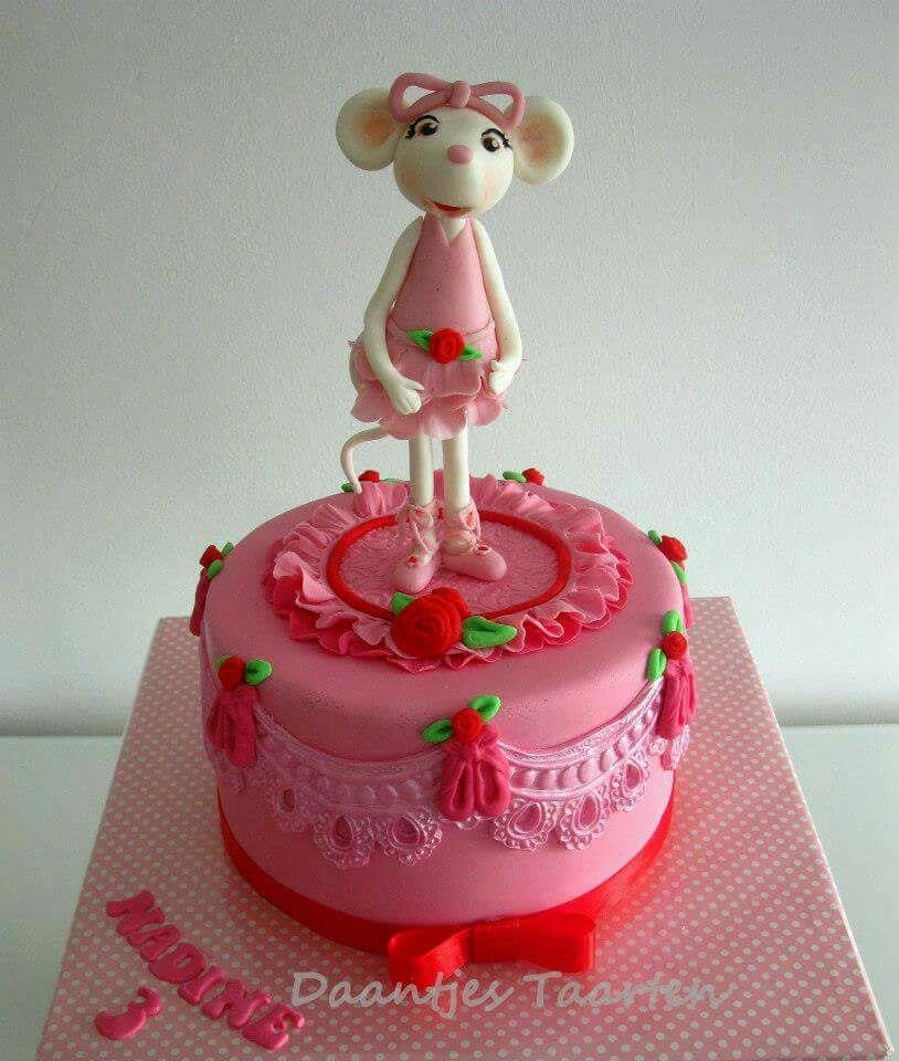 Angelina Ballerina Cake   Ballet Cakes, Cupcakes and ...