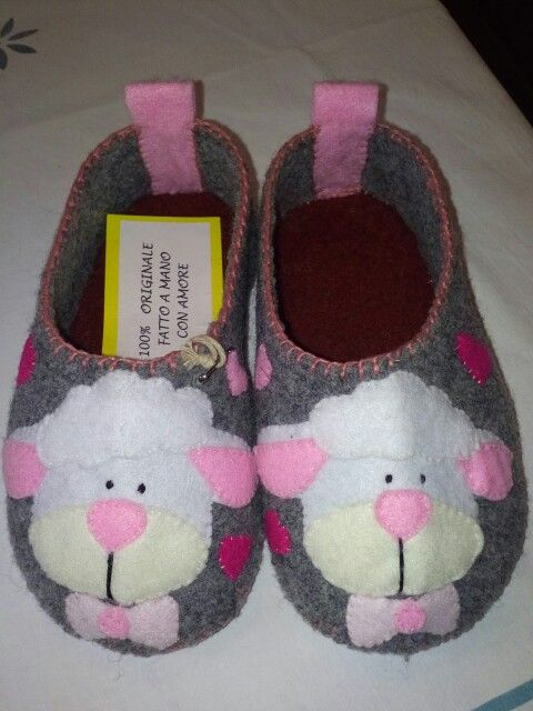Photo of Felt slippers