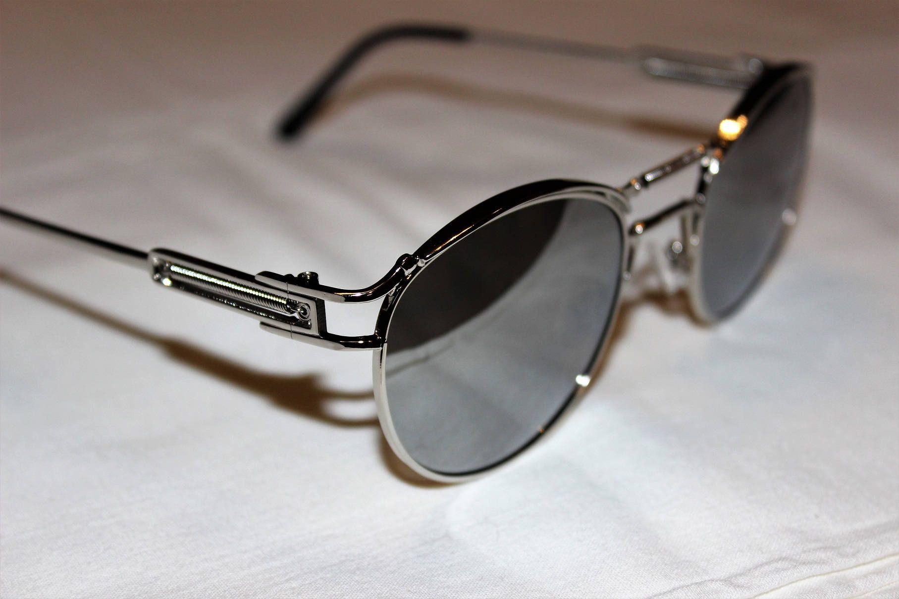 RAY-BAN RB4323 Square Wayfarer Sunglasses Transparent Grey