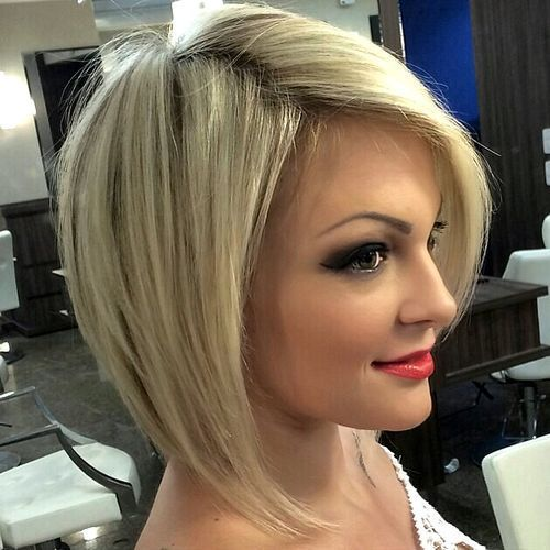 40 banging blonde bob and blonde lob hairstyles angled bobs thin blonde angled bob for thin hair winobraniefo Gallery