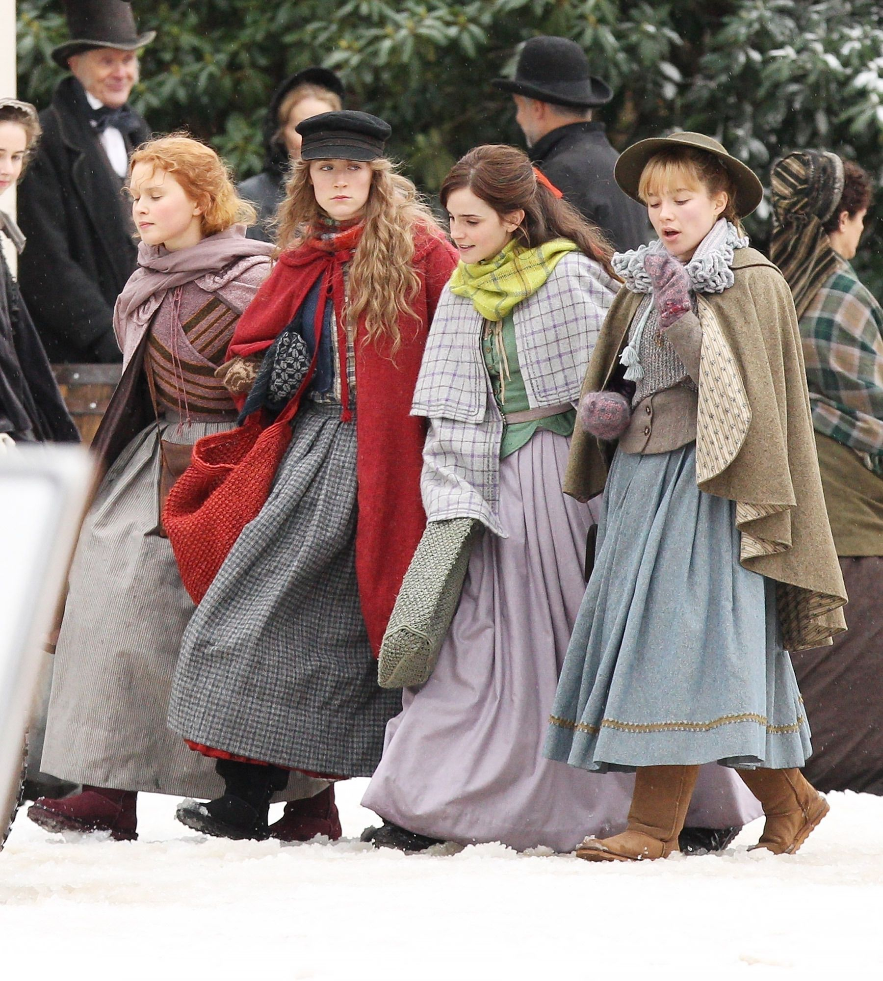 Greta Gerwig's Little Women Are Here! See Emma Watson and
