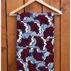 Tissu Wax Africain Motifs Fleurs De Mariage African Prints