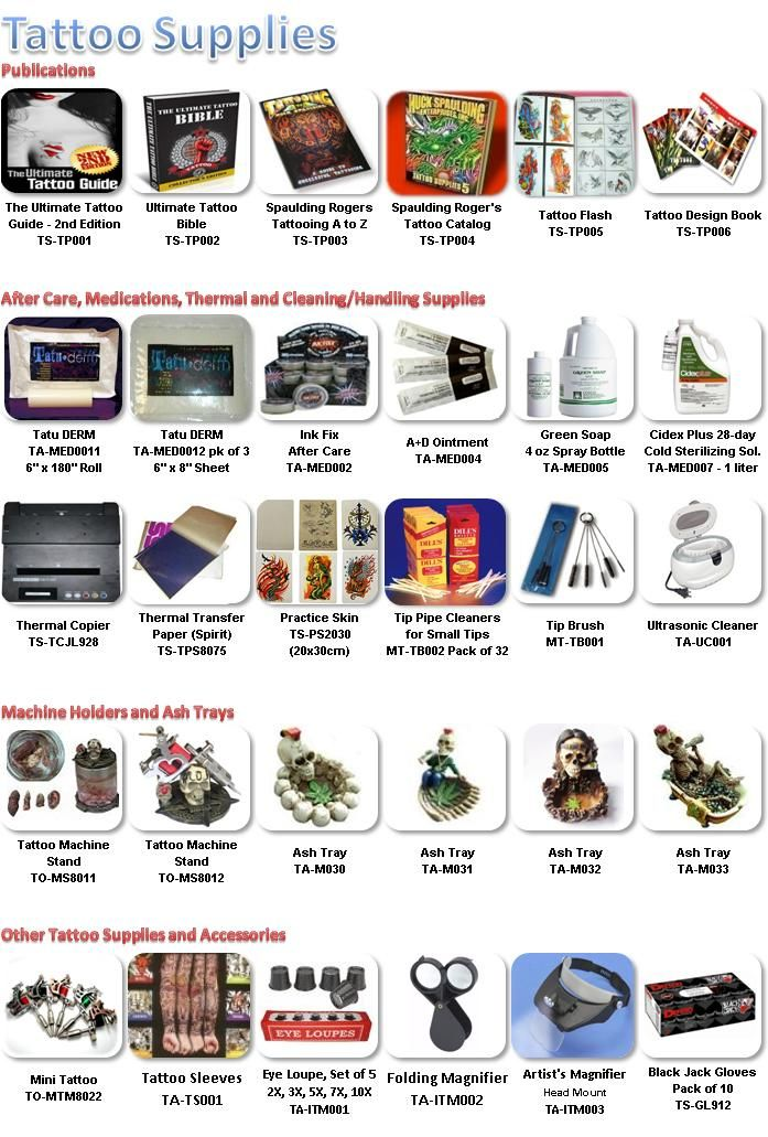 Tattoo Supplies And Accessories Buy Tattoo Supplies And