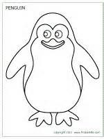 penguin cut out template bing images templates pinterest