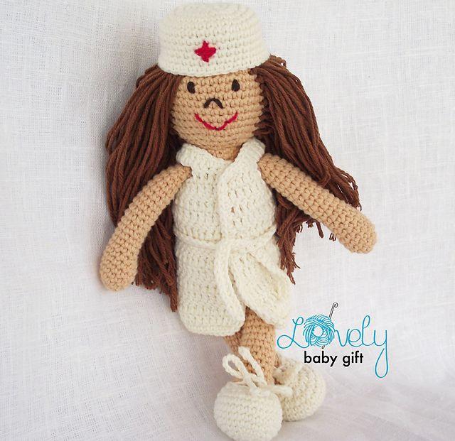 Ravelry: Nurse Doll Amigurumi pattern by Viktorija Dineikiene ...