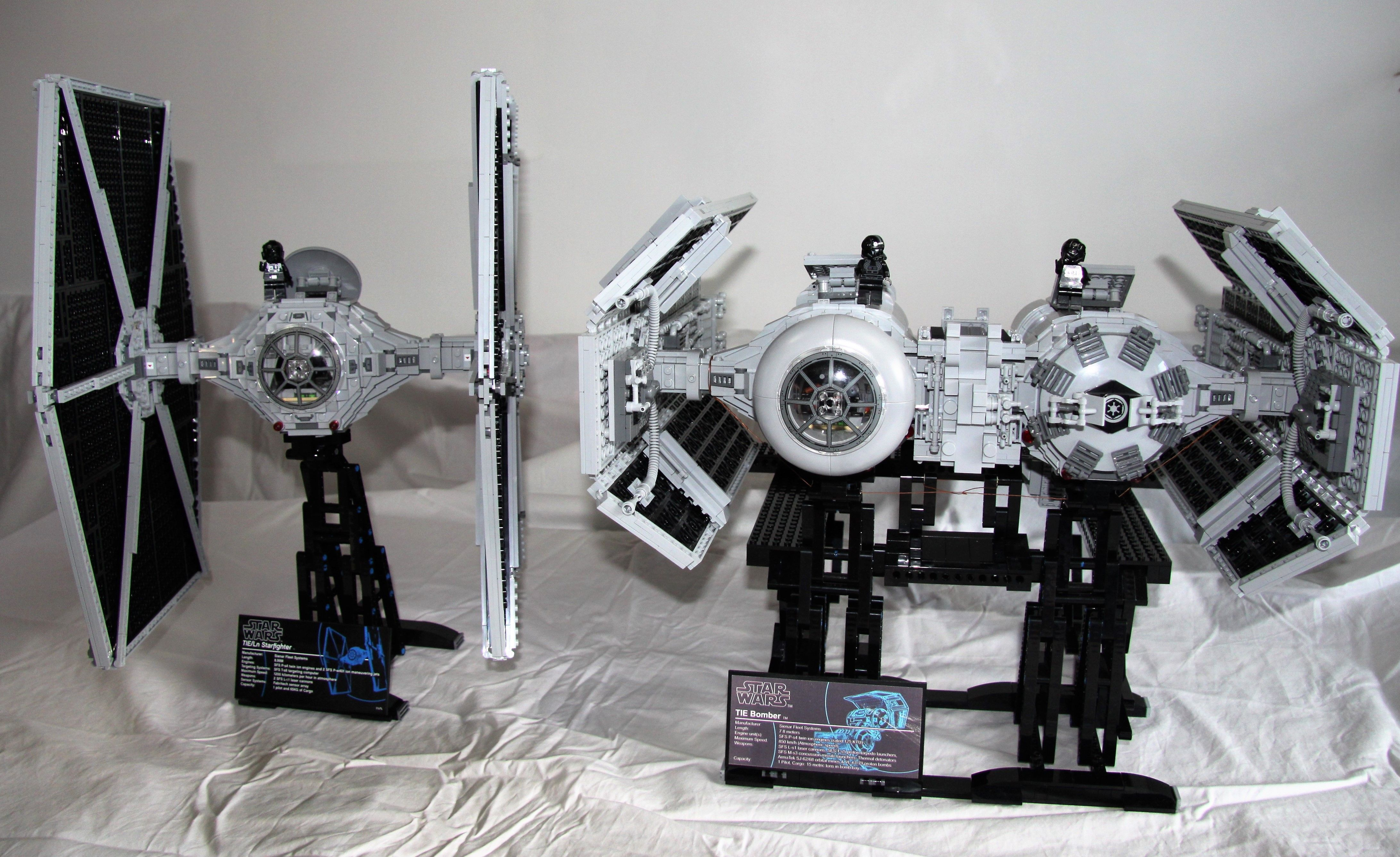 Built To Ucs Scale And Complement The Tie Fighter By Alistair Howat Lego Star Wars Lego Projects Legos