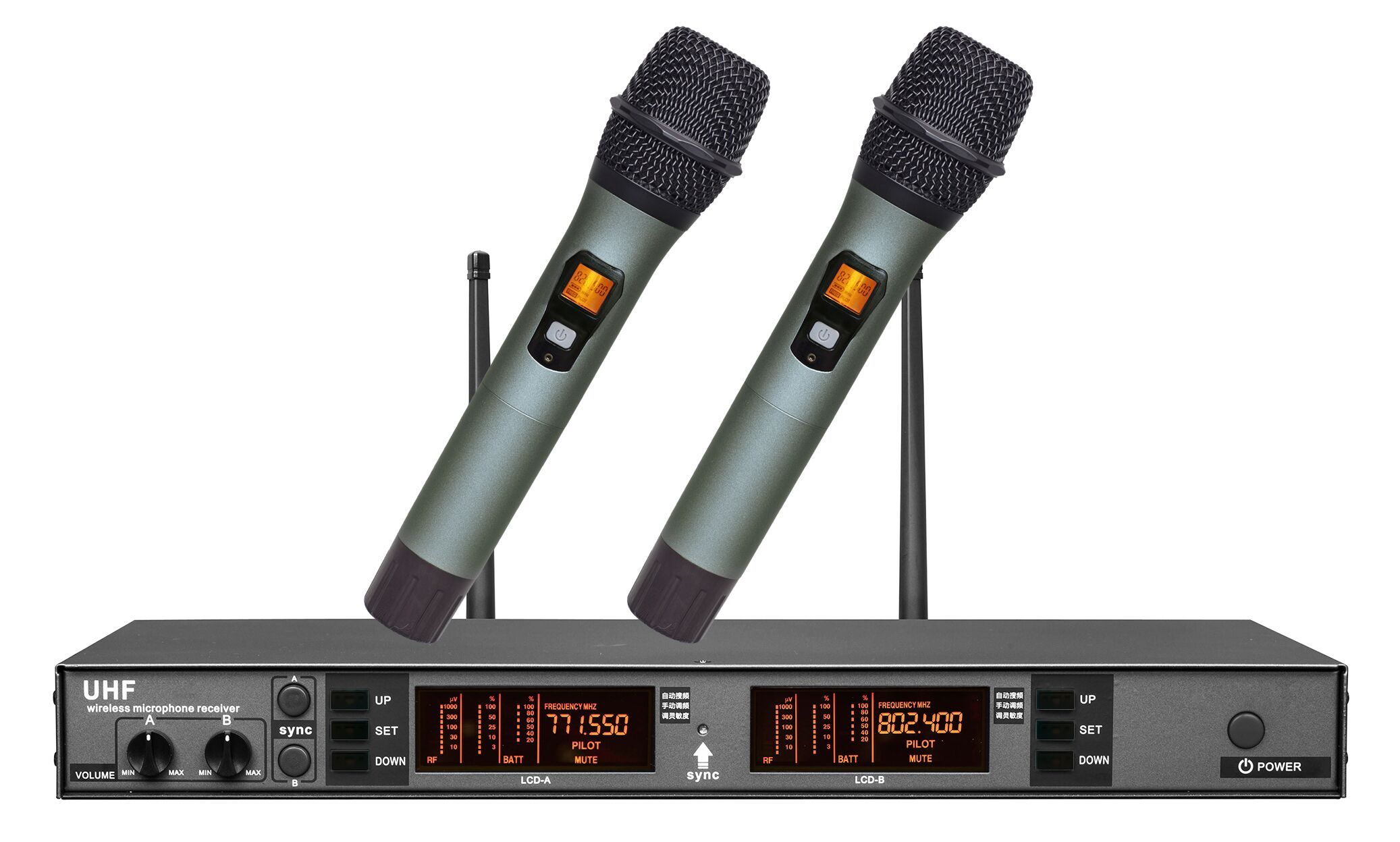 Our Main Product Is Uhf Wireless Microphone 2125 Channel Reveiver Receiver Circuit Pll Frequency