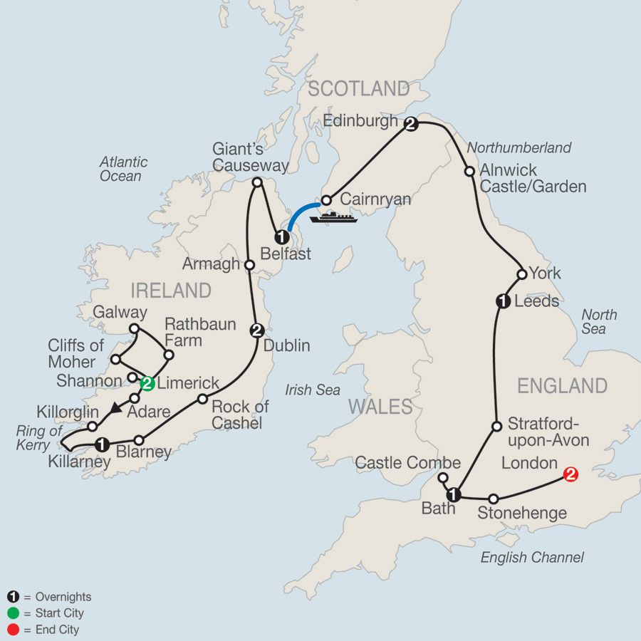 Ireland Vacations Escorted Tour Packages Globus If I Had A - Ireland vacations