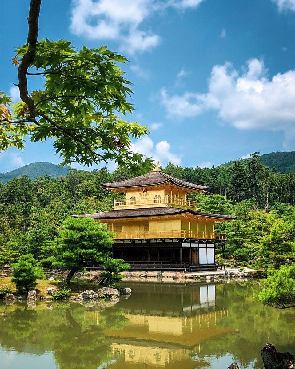 KINKAKU-JI ✨ - ce magnifique temple doré de Kyōto . . . . . #kyoto #kinkakuji #kinkakujitemple #temple #gold #goldentemple #japan #japon #kyotojapan #kyotocity #explorejapan #discoverjapan #visitjapan #explore #neverstopexploring #traveldeeper #traveljapan #japantravelphoto #japangram #japan_vacations #japan_of_insta #japanculture #japanesetradition #kyotote