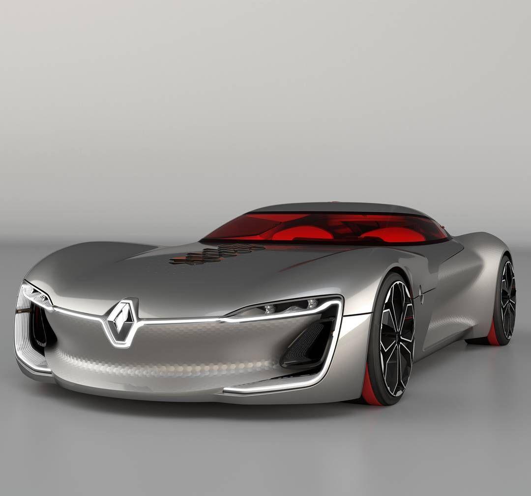 Eis o Renault TREZOR! O concept-car que dá início a um novo ciclo de design da Renault. #Renault #RenaultTREZOR #conceptcar #futuro #design