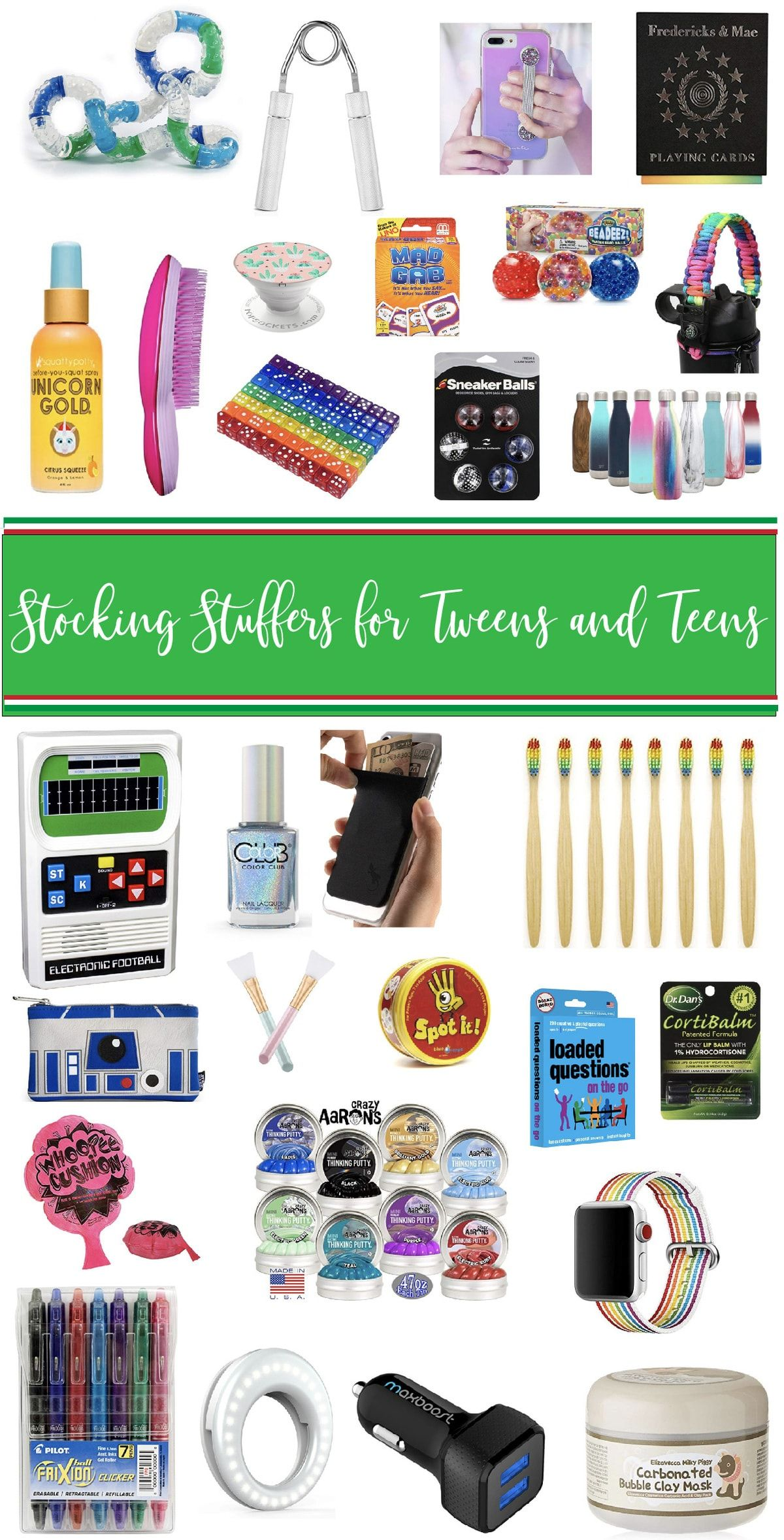 Best Stocking Stuffers for Tweens and Teens   Baked Bree