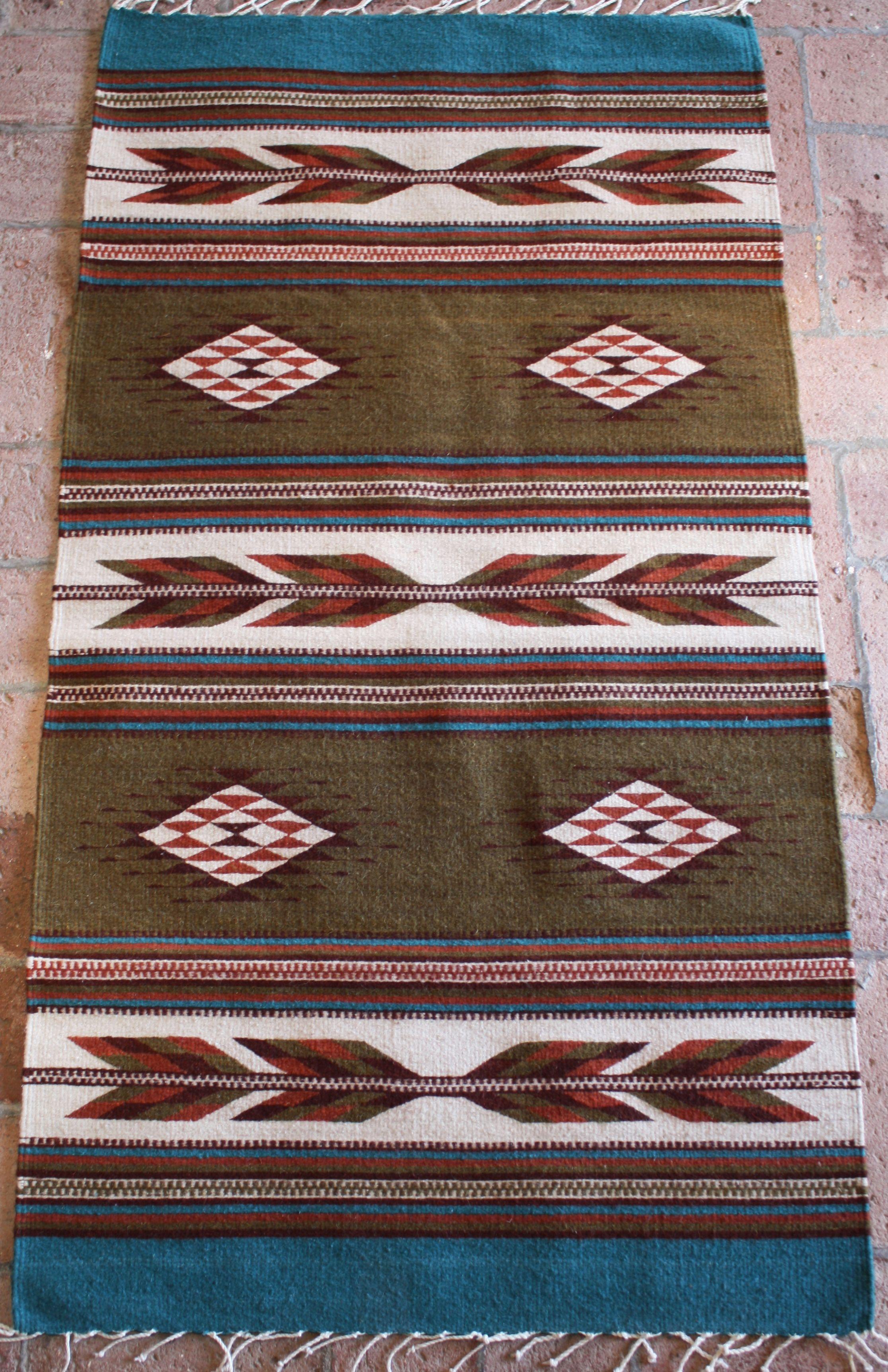 Manos Zapotecas Fair Trade Rug Handwoven By Enedina Fair Trade