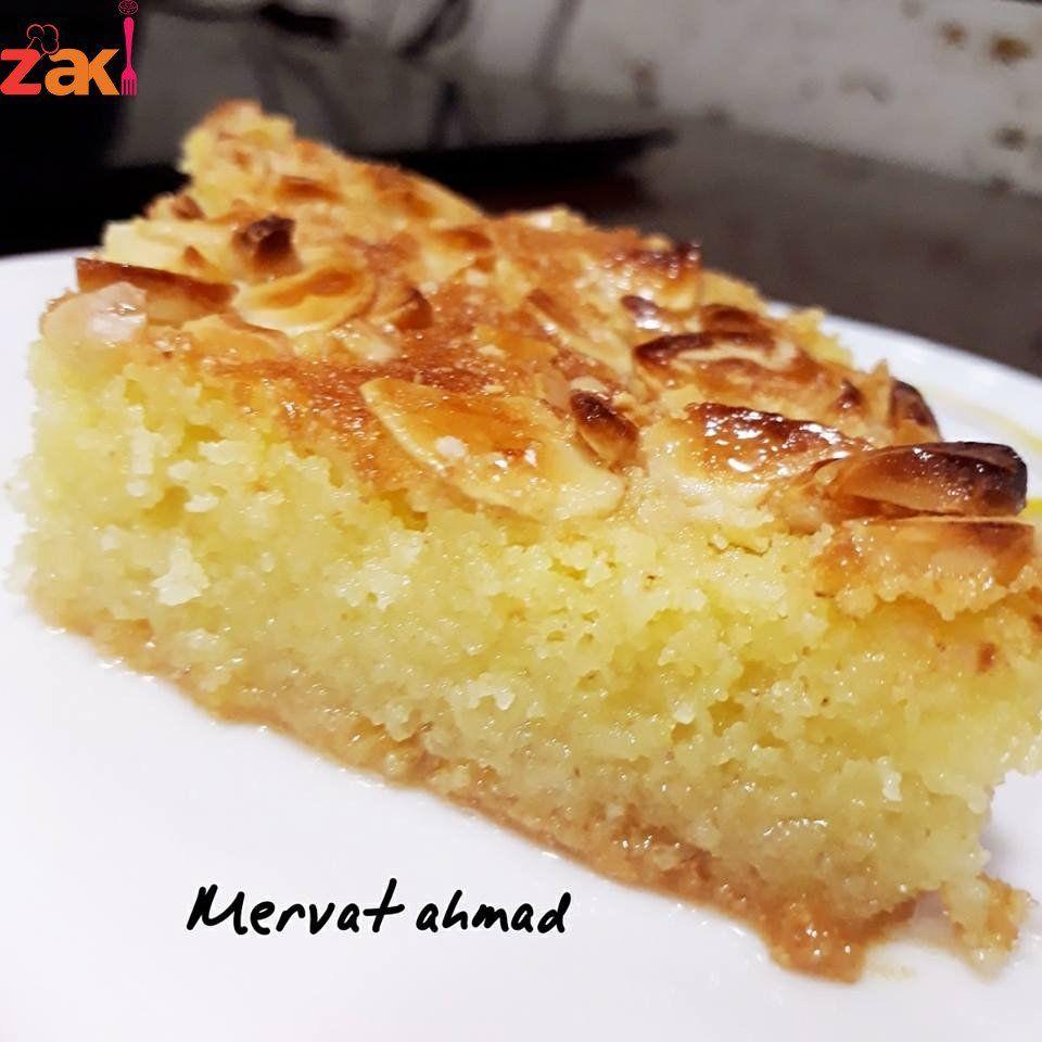 هذه الطريقة السرية لعمل الهريسة مثل الجاهز احفظي الطريقة على جوالك الان زاكي Sweets Recipes Arabic Food Middle Eastern Desserts