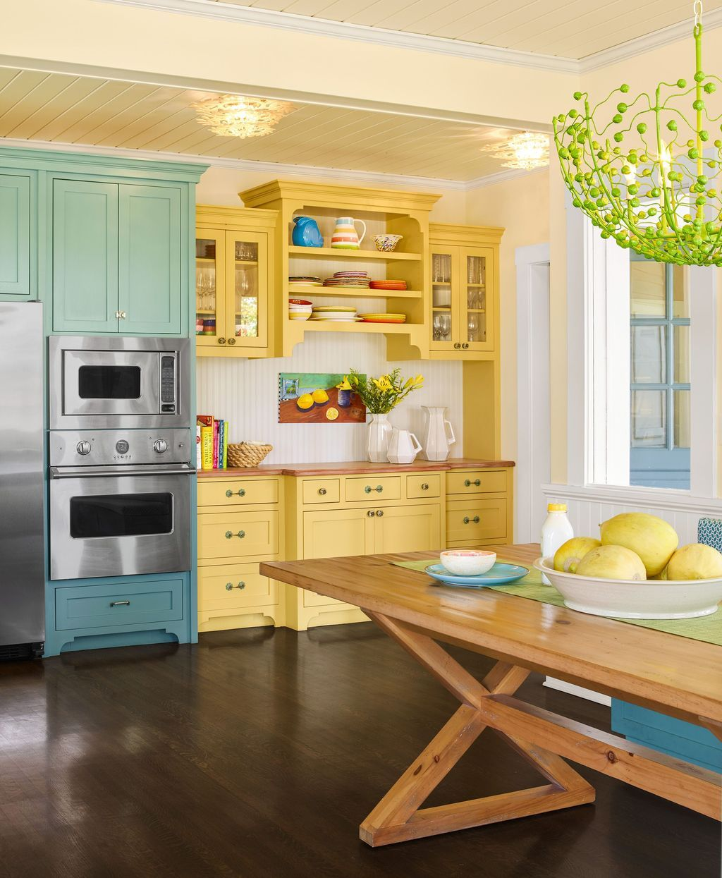 30 Lovely Colorful Kitchen Decorating Ideas In 2020 With Images