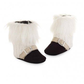 Fur Trimmed Boots By Mud Pie Mud Pie Baby Baby Girl Shoes
