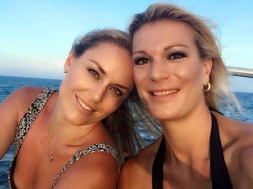 Anche Maria Riesch in vacanza con Lindsey Vonn