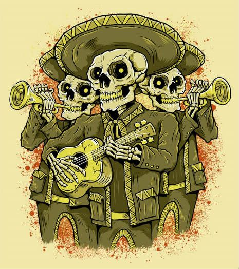 Former Strangler Hugh Cornwell Performs Golden Brown With Mariachi Band Mexican Art Skeleton Drawings Mariachi