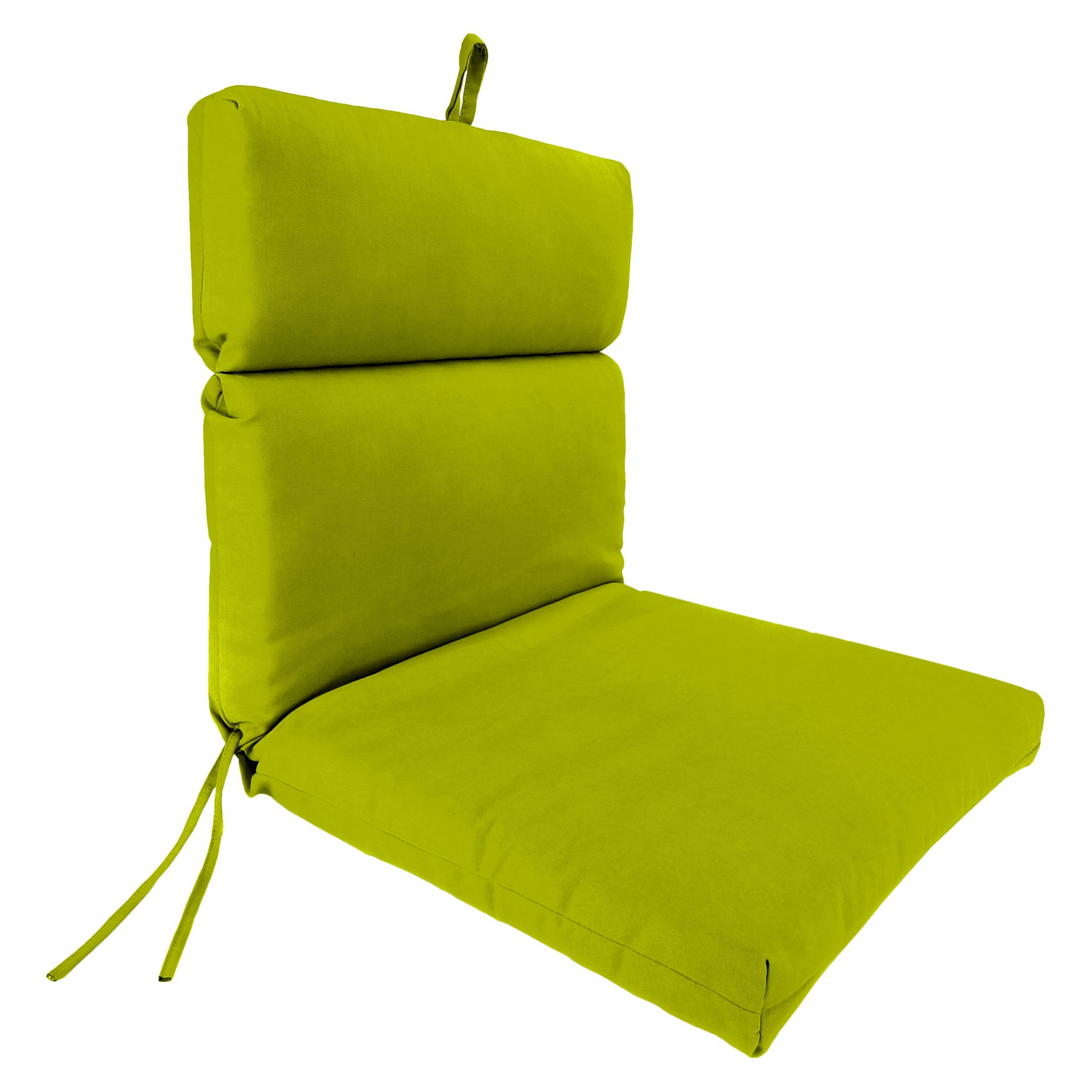 Jordan french edge chair cushion lime zest products