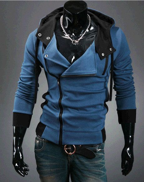 free shipping 2016 fashion casual slim cardigan assassins creed