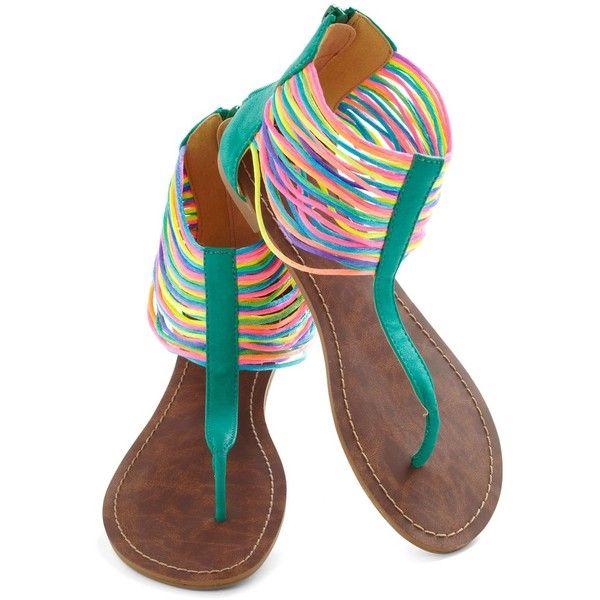Neon the Shore Sandal