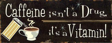 Funny Coffee IV by Pela art print