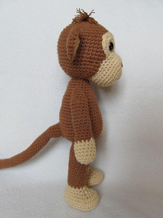 Amigurumi Tutorial Mono : Sweet Monkey Julie - Amigurumi Crochet Pattern / PDF e ...