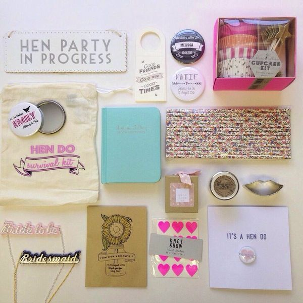 Hen Party Essentials From Wedding In A Teacup