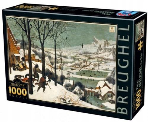 Puzzle 1000 Elementow Mysliwi Na Sniegu Brueghel 9435190701 Oficjalne Archiwum Allegro Baseball Cards Baseball Cards
