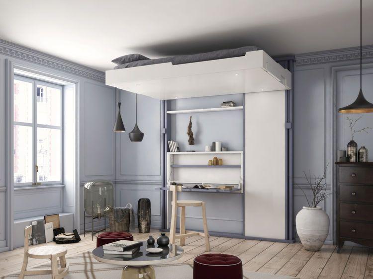 rangements nos astuces gain de place gain de place dans la chambre et place. Black Bedroom Furniture Sets. Home Design Ideas