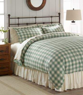 Ultrasoft Comfort Flannel Comforter Cover Collection Check In