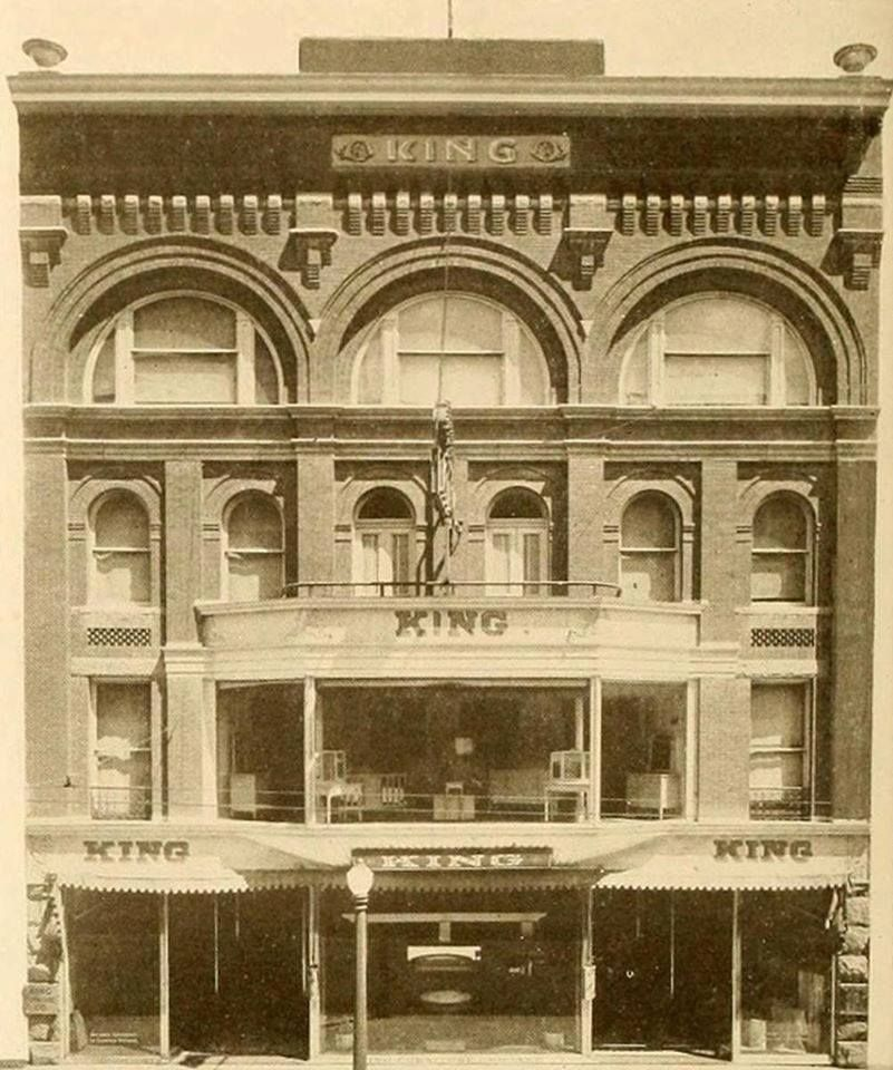 Beautiful King Furniture Co. At 205 W. Commerce. King Furniture Store Closed In 1961