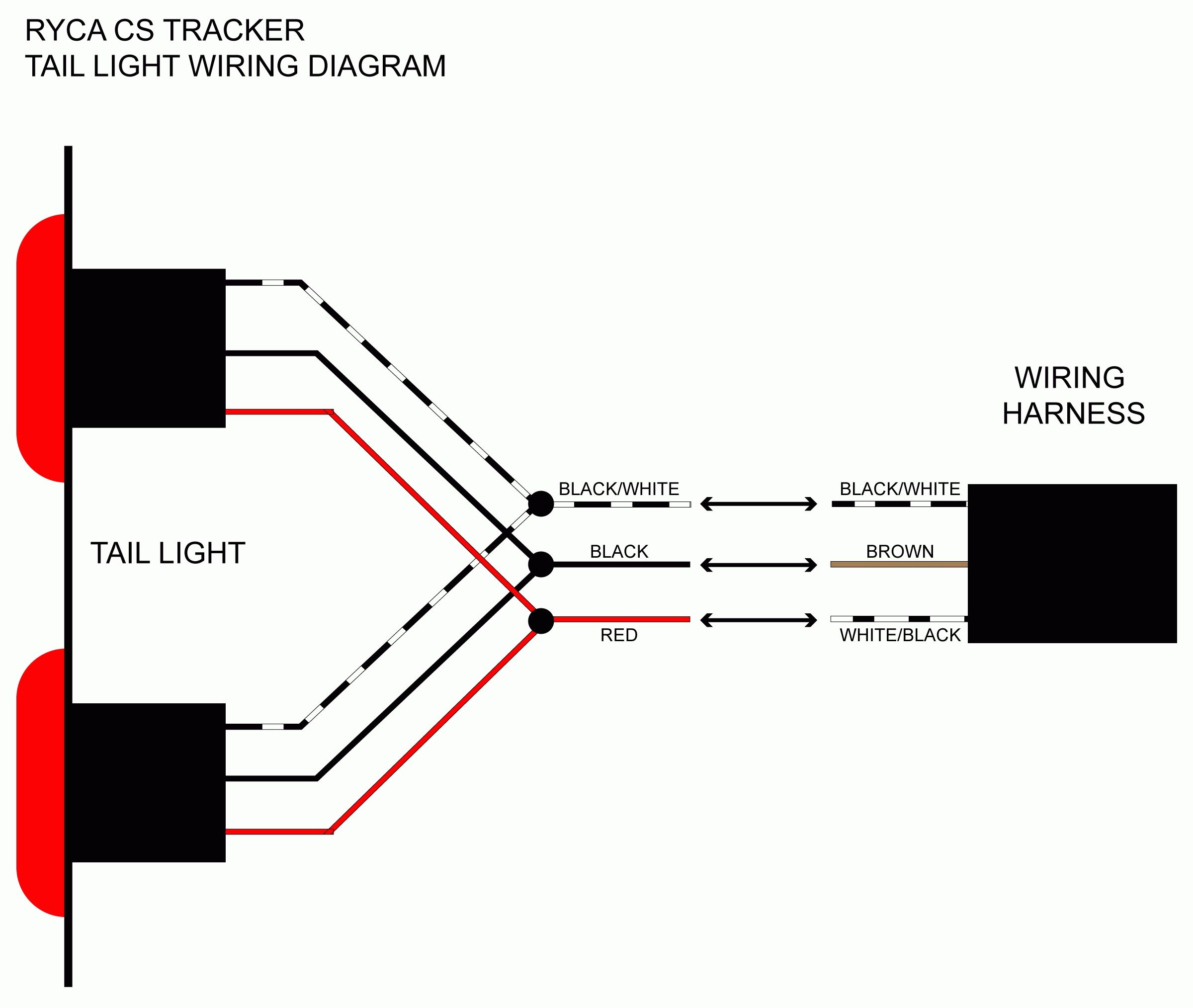 trailer light wire diagram