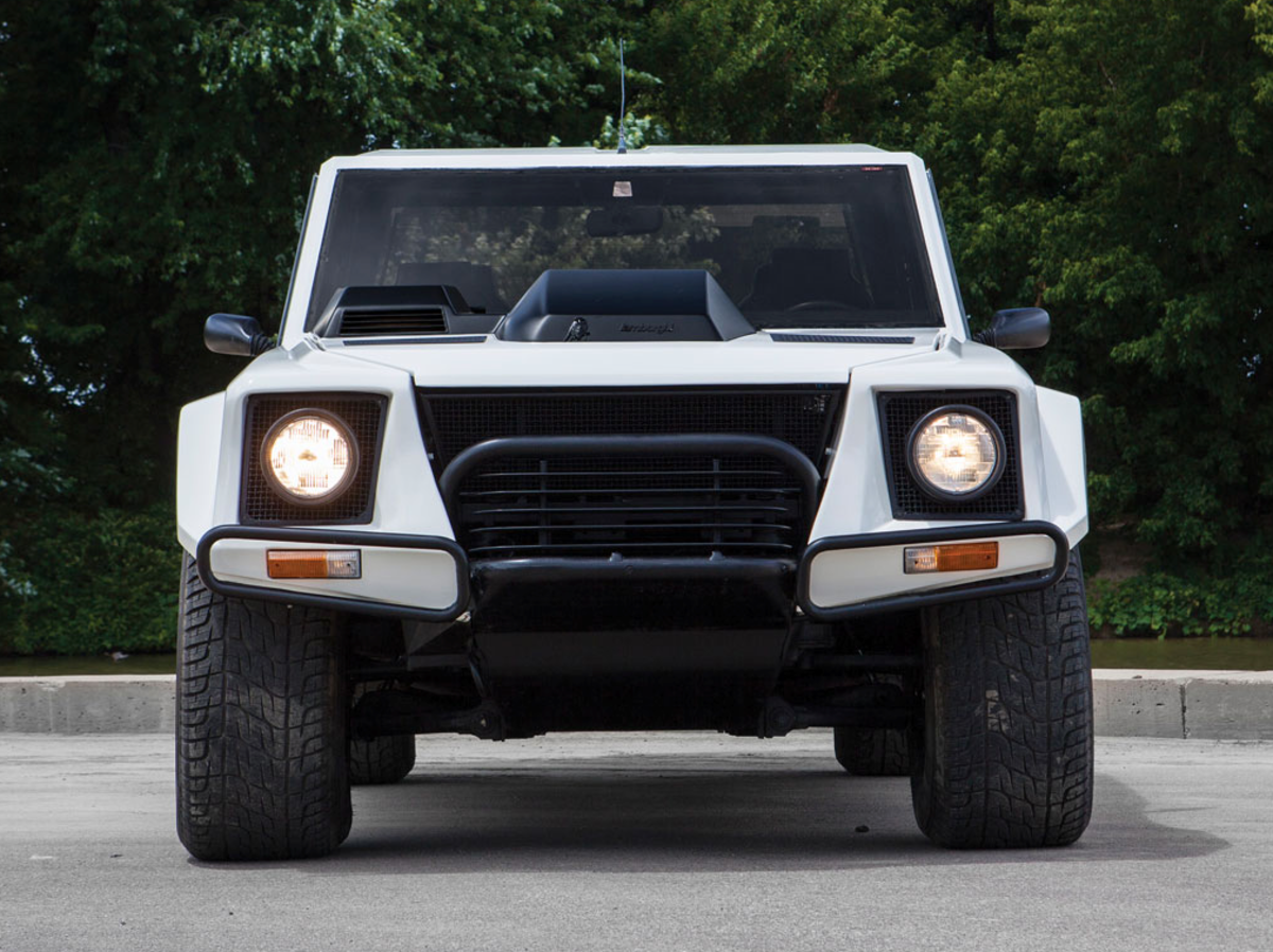 This 1988 Lamborghini V12 Suv Is A Wrecking Ball Of Cool Lamborghini Lamborghini For Sale Lambo