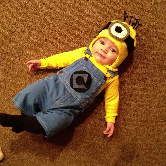 278888295 little minion :) | Halloween in 2019 | Minion costumes, Baby minion ...