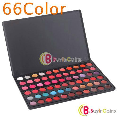 66 Color Lips Gloss Lipsticks Makeup Cosmetics Palette -- BuyinCoins.com