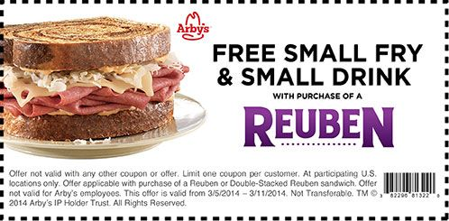 Arbys Coupon App