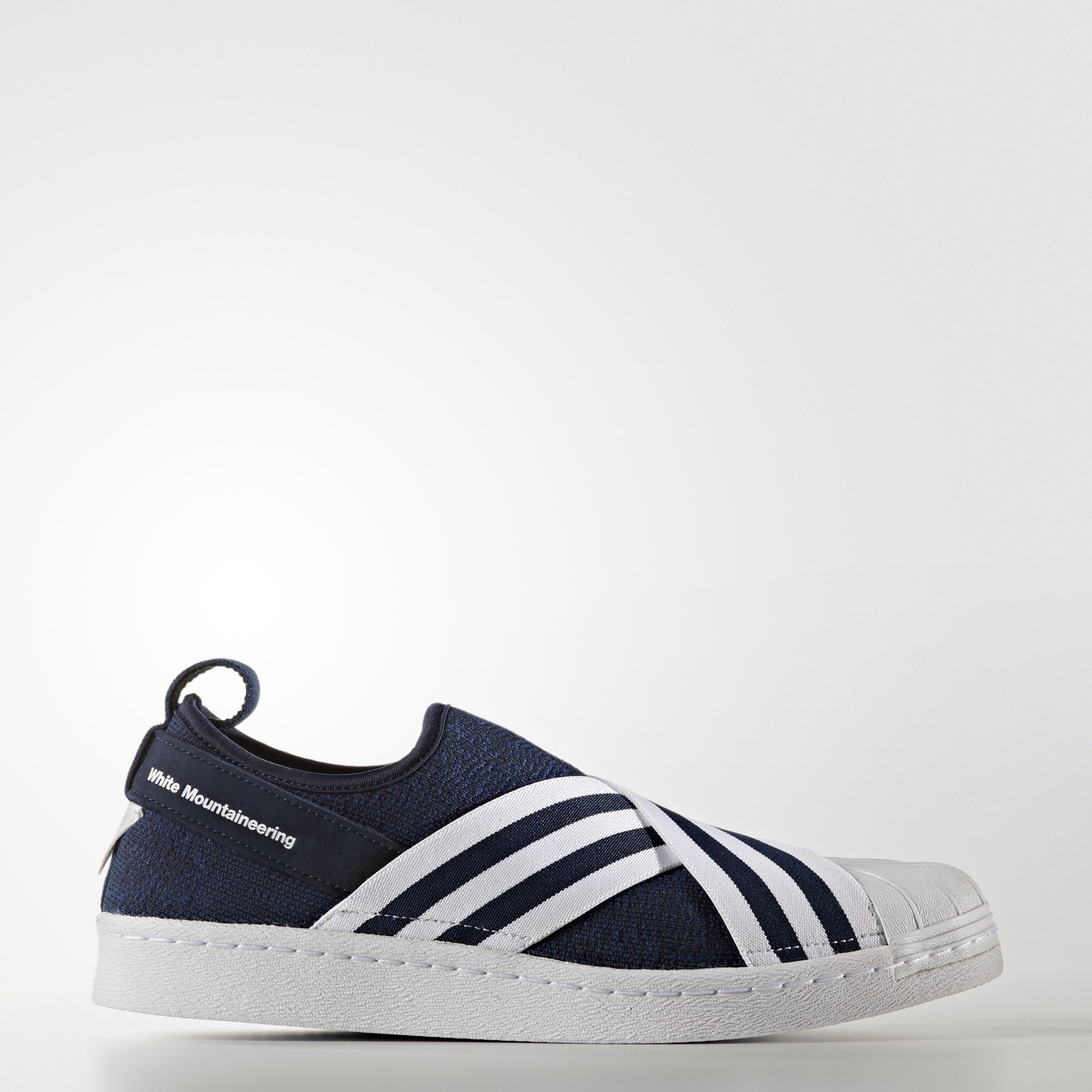 adidas - Zapatilla White Mountaineering Primeknit Superstar Slip-On.  Superstars ShoesSlip On ShoeSuper StarUnisexNavyMountaineeringAdidas ...